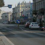 Flagi w Jarosławiu - centrum miasta