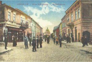Jarosław na starych pocztówkach