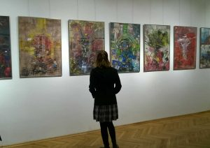 Wystawa Waliczka i Kowalczuka w MOK Jarosław