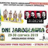 Plakat Dni Jarosławia 2019