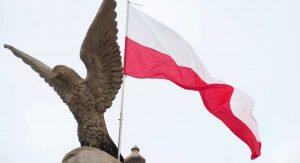 Polska flaga - MOK Jarosław
