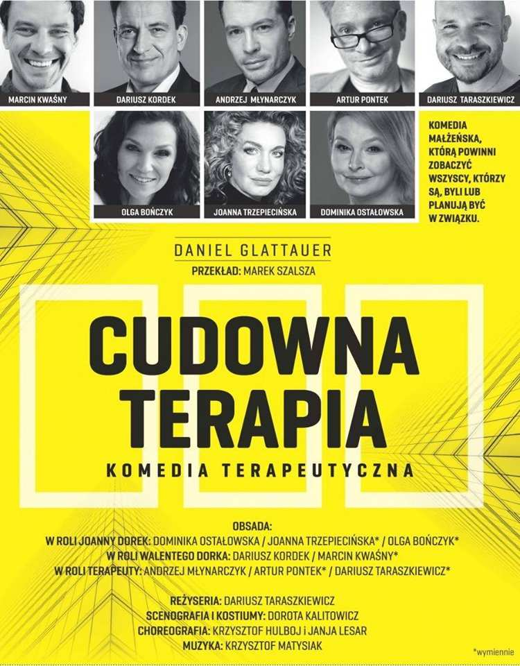 Cudowna terapia - spektakl w Jarosławiu
