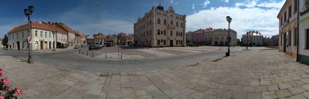 Jarosław - zdjęcia. Rynek przed modernizacją